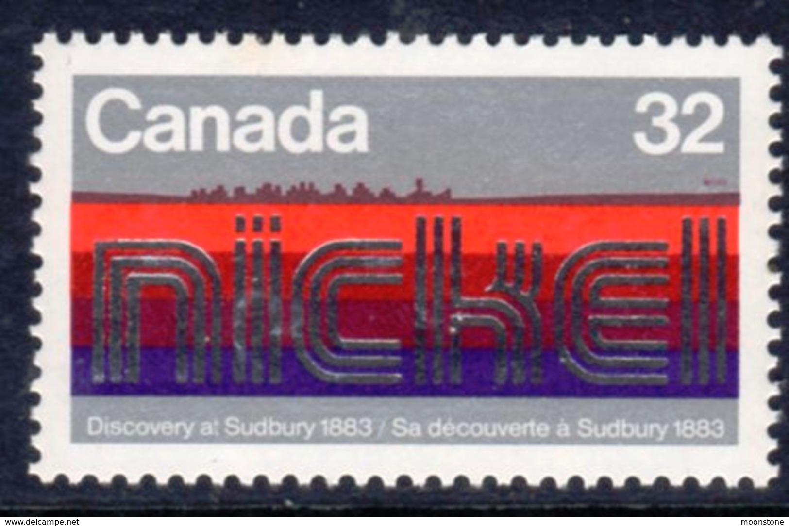 Canada 1983 Sudbury Nickel Deposits, MNH, SG 1103 - 1952-.... Reign Of Elizabeth II