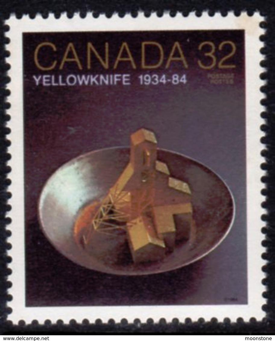 Canada 1984 50th Anniversary Of Yellowknife, MNH, SG 1116 - 1952-.... Reign Of Elizabeth II
