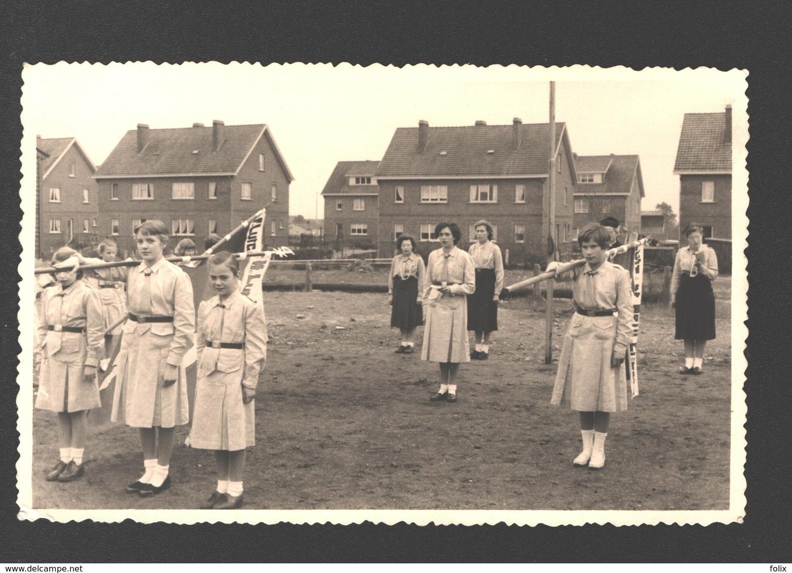 Houthalen - Originele Fotokaart Gevaert - Chiro St. Lutgart Meulenberg - Ca 1960 - Pfadfinder-Bewegung