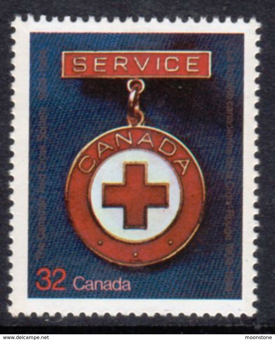 Canada 1984 75th Anniversary Of Canadian Red Cross, MNH, SG 1120 - 1952-.... Reign Of Elizabeth II
