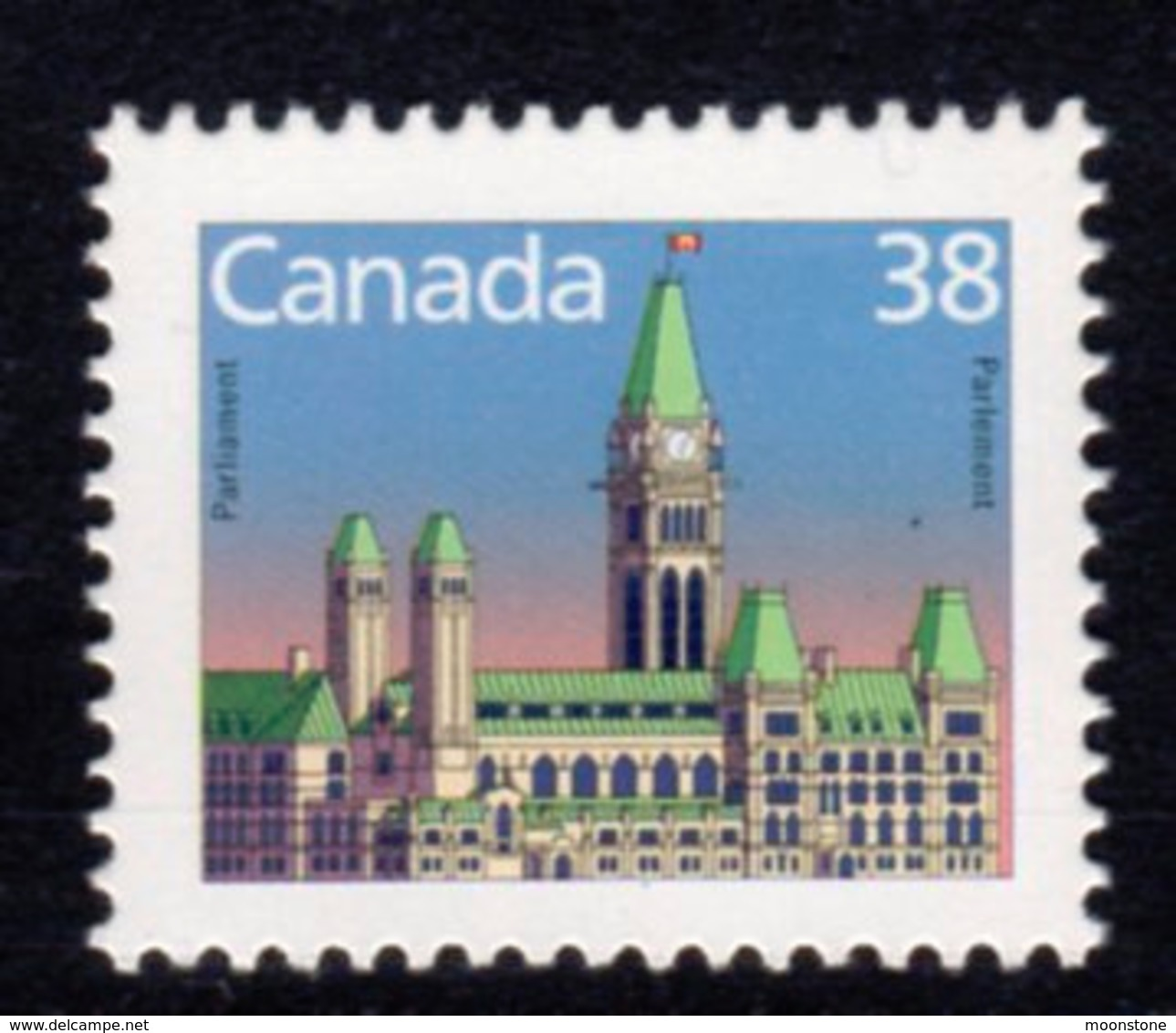 Canada 1985-2000 Definitives 38c BABN Definitive, MNH, SG 1154 - 1952-.... Reign Of Elizabeth II