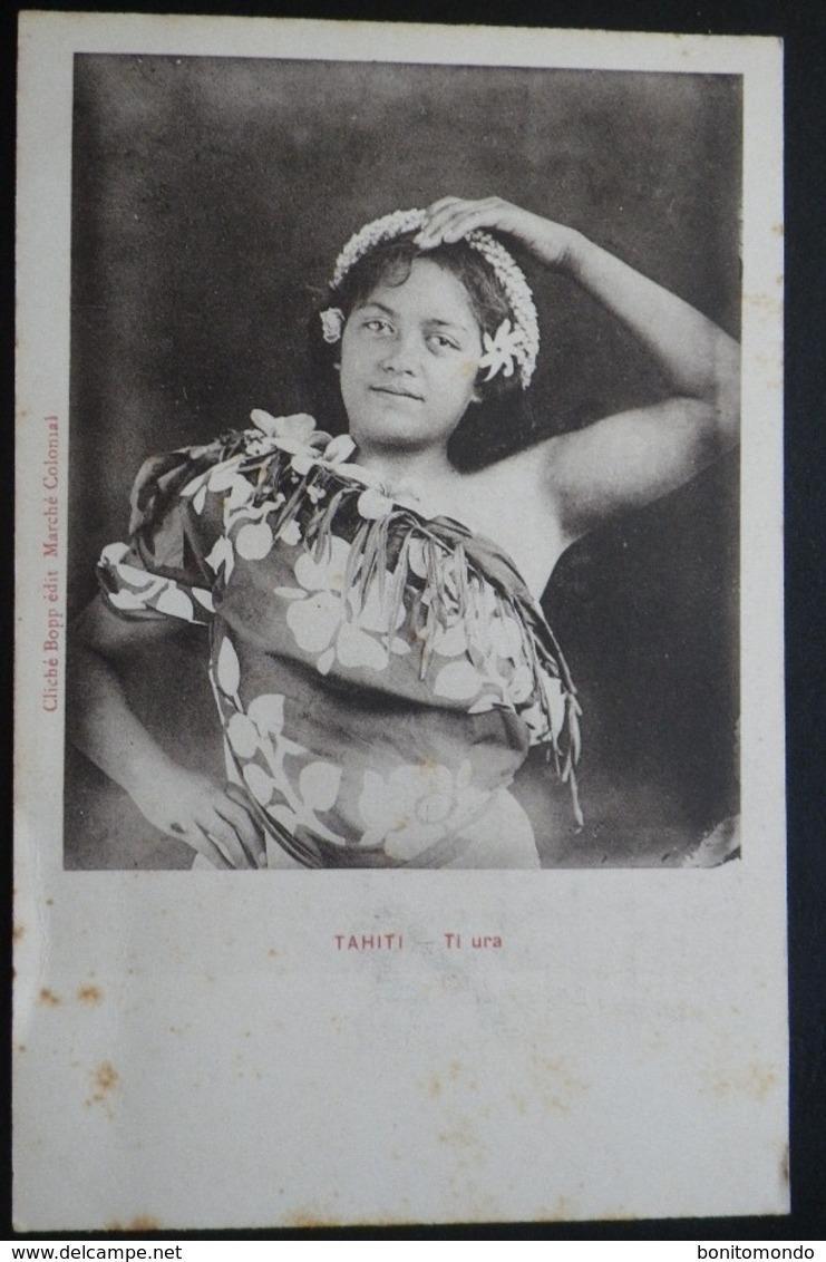 Tahiti Postcard. Ti Ura - Tahiti