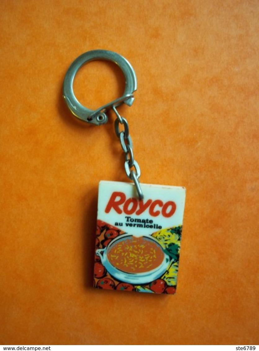 Porte Clés Clefs   ROYCO Potage Tomate Au Vermicelle - Porte-clefs