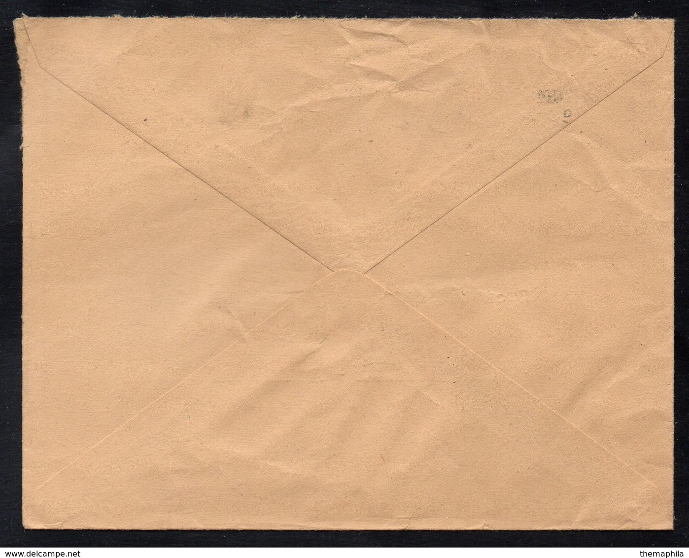 VOLCAN - VULKAN - VOLCANO / 1956 ST PIERRE MARTINIQUE OBLITERATION RBV SUR LETTRE (ref 7641a) - Volcans
