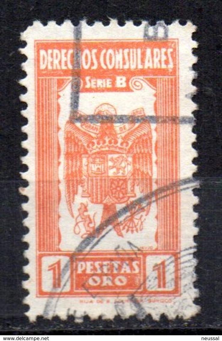 Fiscal De Derechos Consulares Serie B 1 Pesetas - Fiscales