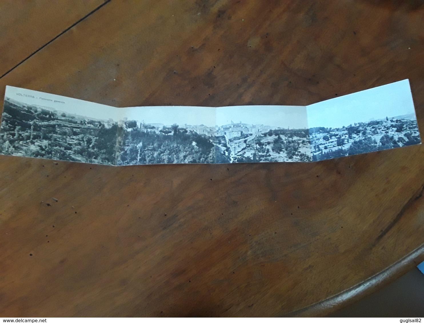 Cartolina Postale Panoramica 1925, Volterra Panorama Generale - Pisa