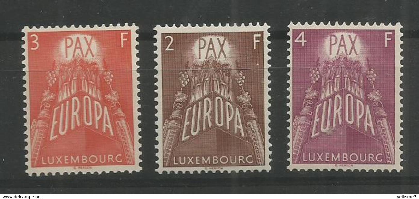 LUXEMBOURG - MNH - Europa-CEPT - Architecture - 1957 - Europa-CEPT