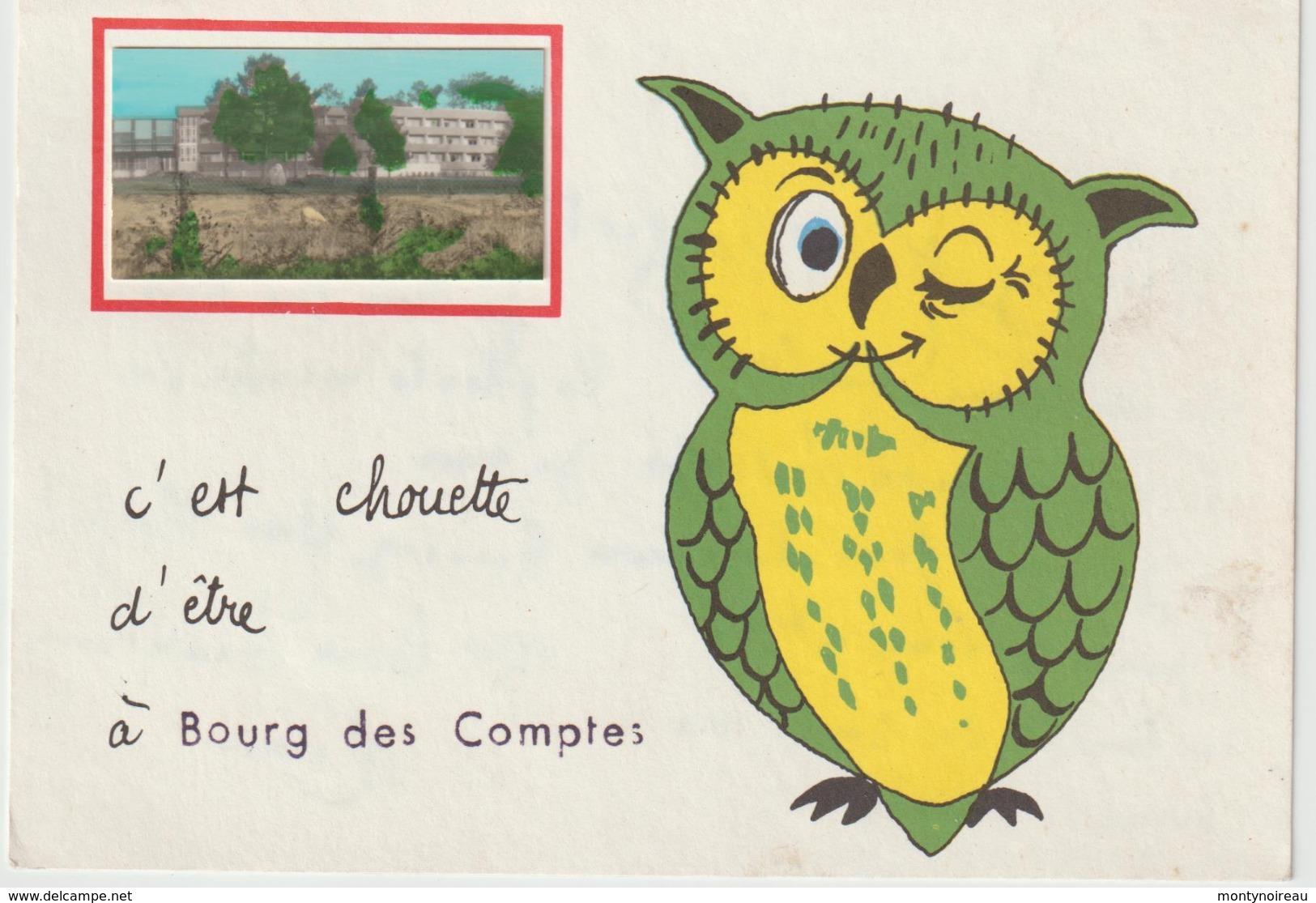 Ille E T  Vilaine :  BOURG  Les   COMPTES :  C  ' Est   Chouette - France