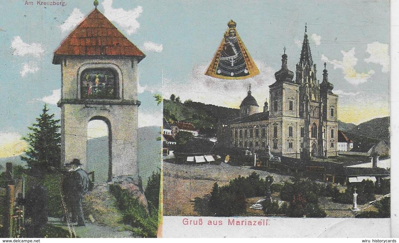 AK 0315  Gruß Aus Mariazell Um 1910-20 - Mariazell