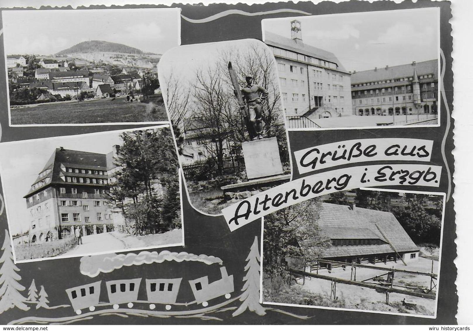 AK 0314  Altenberg  / Ostalgie , DDR Um 1962 - Altenberg