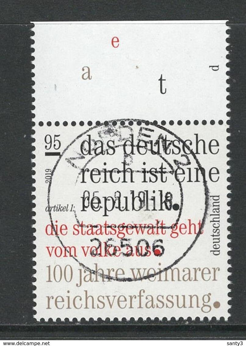 Duitsland, Mi 3488 Jaar 2019 Prachtig Gestempeld - [7] République Fédérale