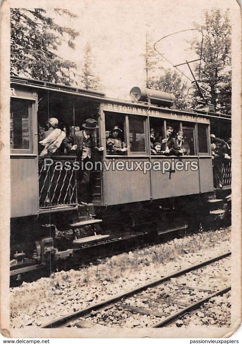 Petite PHOTO  TRAIN LA SCHLUCHT RETOURNEMER - Autres Communes