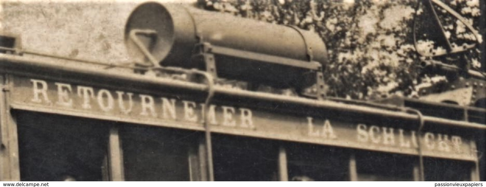 Petite PHOTO  TRAIN LA SCHLUCHT RETOURNEMER - Francia