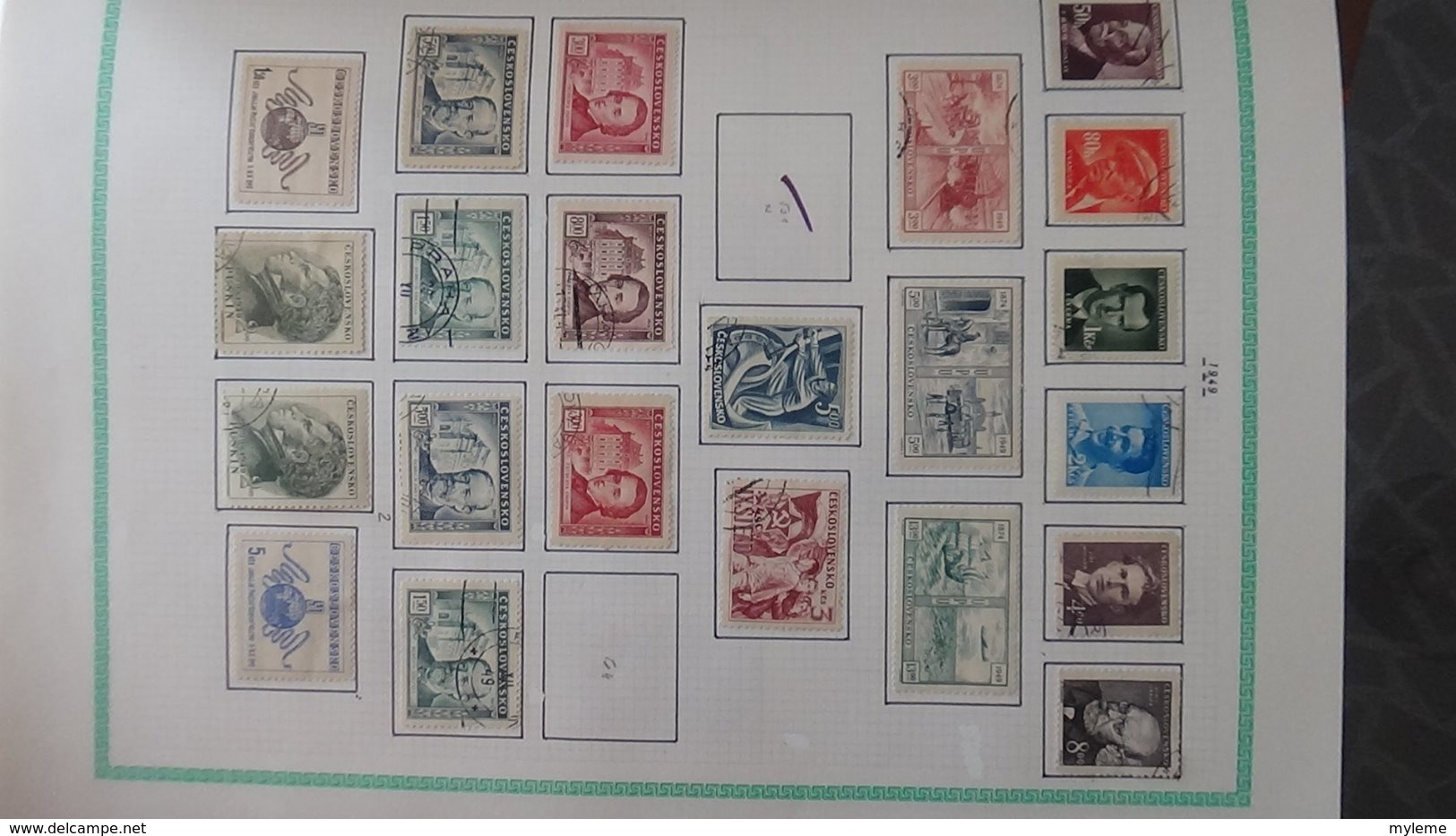 Grosse Collection De TCHECOSLOVAQUIE Bien Suivie Toutes Les Photos N'ont Pas été Prises - Stamps