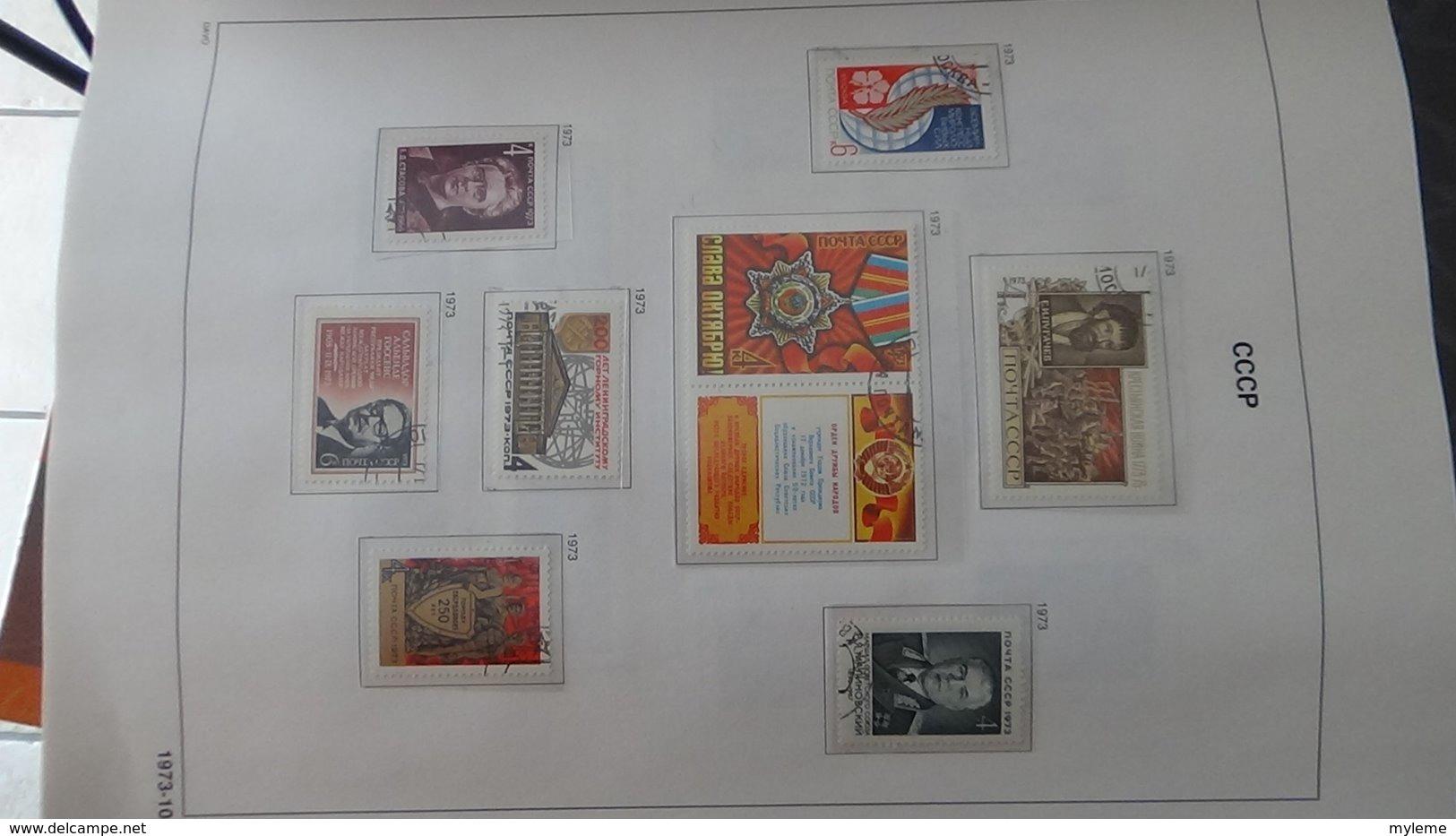 Grosse Collection De RUSSIE (CCCP) Dont Blocs Bien Suivie Toutes Les Photos N'ont Pas été Prises - Sammlungen (im Alben)