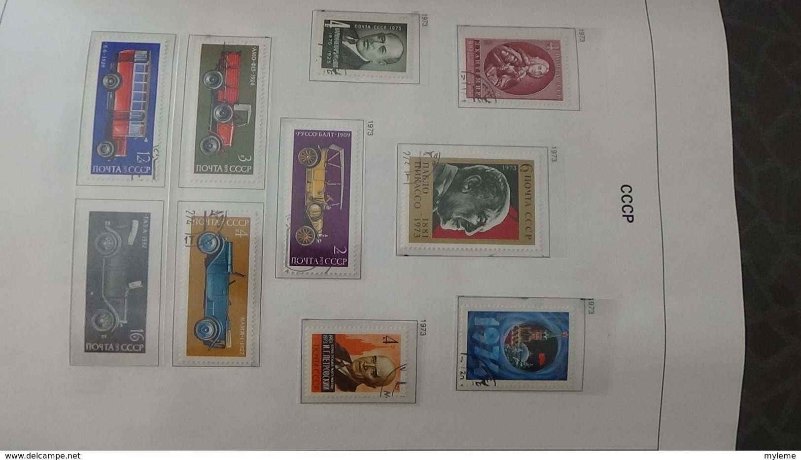 Grosse Collection De RUSSIE (CCCP) Dont Blocs Bien Suivie Toutes Les Photos N'ont Pas été Prises - Timbres