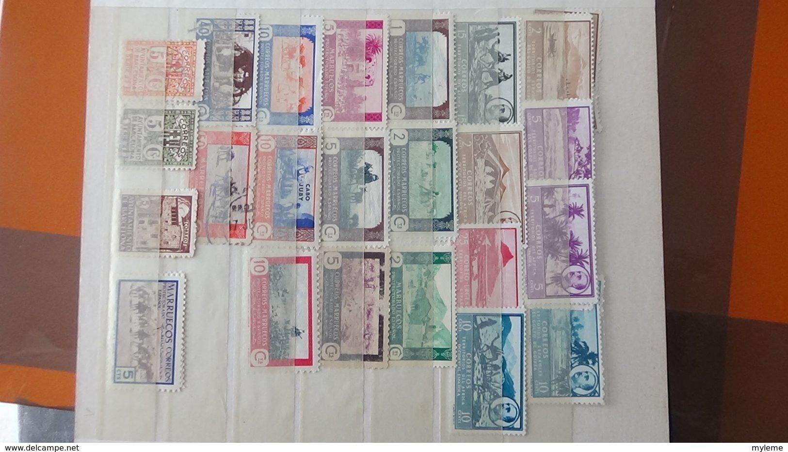 Collection Des Colonies Espagnoles Avec Variété. Très Sympa !!! - Stamps