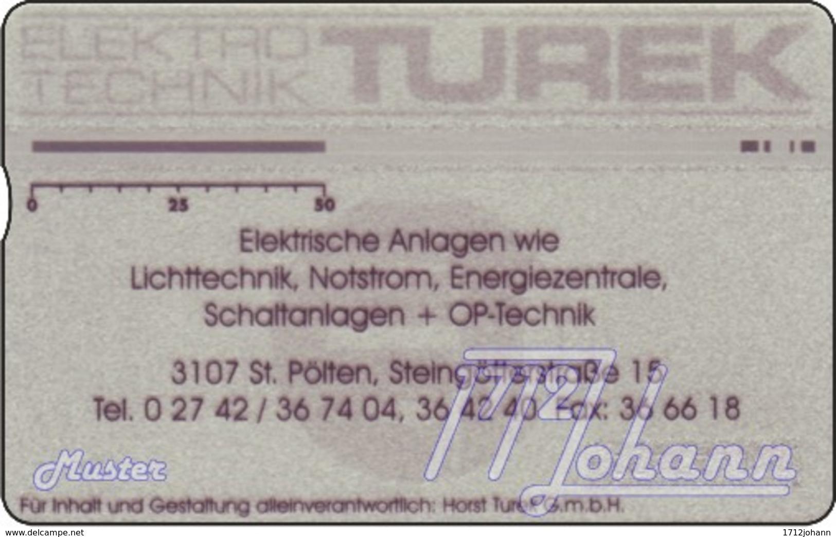 """TWK Österreich Privat: """"Turek Elektrotechnik"""" Gebr. - Autriche"""