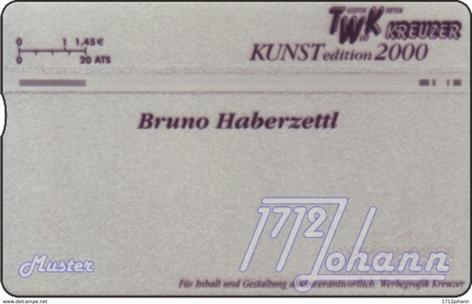 """TWK Österreich Privat: """"Comic - Bruno Haberzettl 2"""" Gebr. - Autriche"""