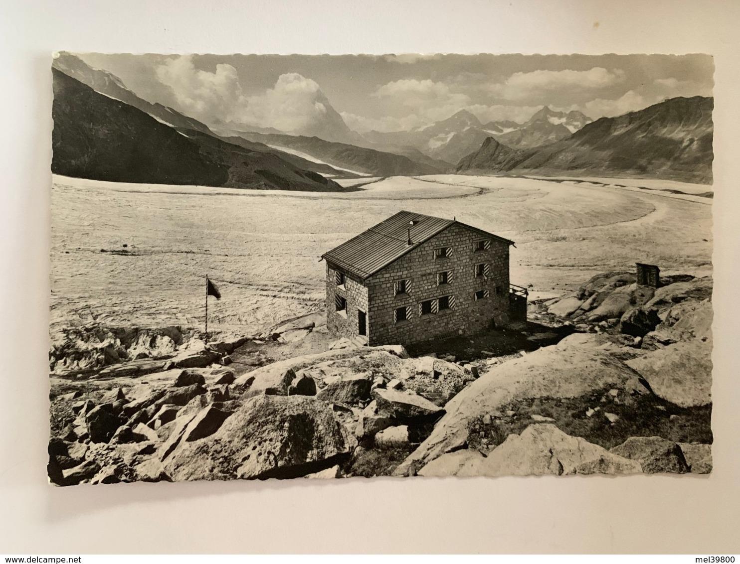 Monte-Rossa-Hütte - VS Valais