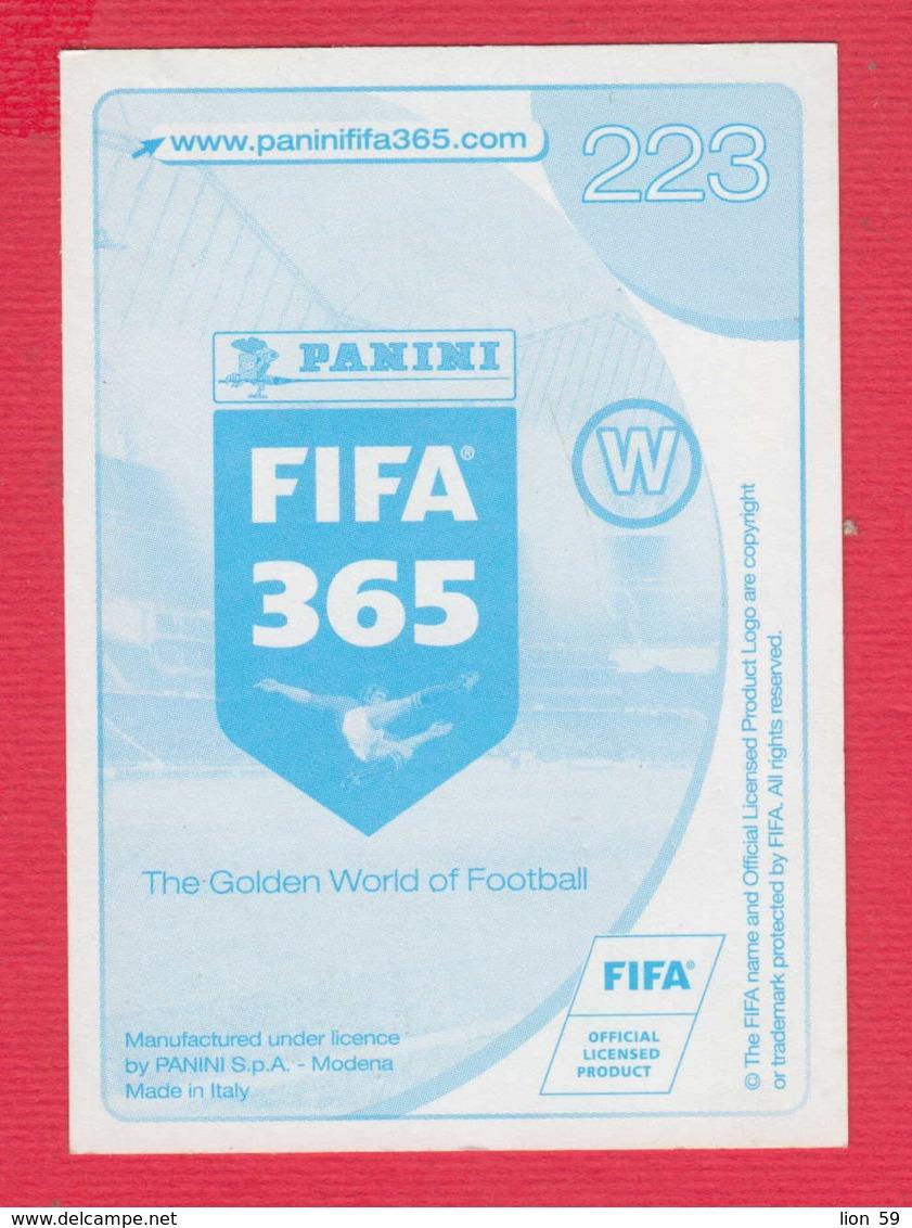 247973 / Giacomo Bonaventura - Italian Soccer Calcio Football Fussball , PANINI , FIFA 365 , AC MILAN  Italy Italia - Panini