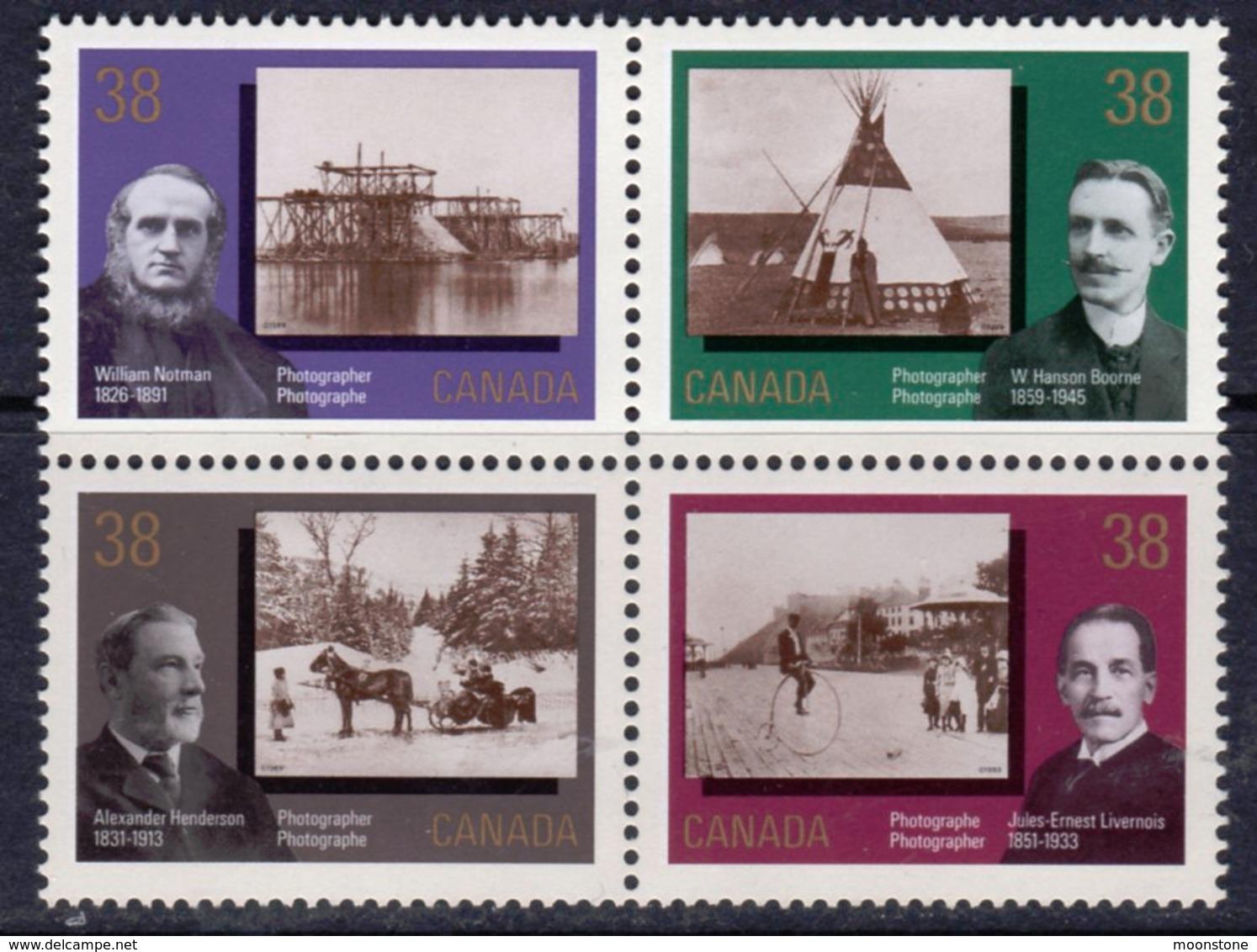 Canada 1989 Canada Day, Photography Block Of 4, MNH, SG 1323/6 - 1952-.... Reign Of Elizabeth II