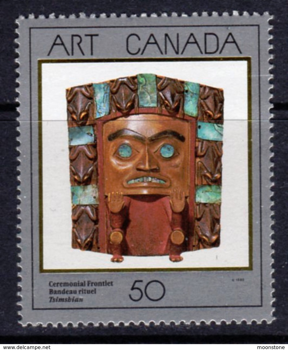 Canada 1989 Canadian Art II, MNH, SG 1327 - 1952-.... Reign Of Elizabeth II