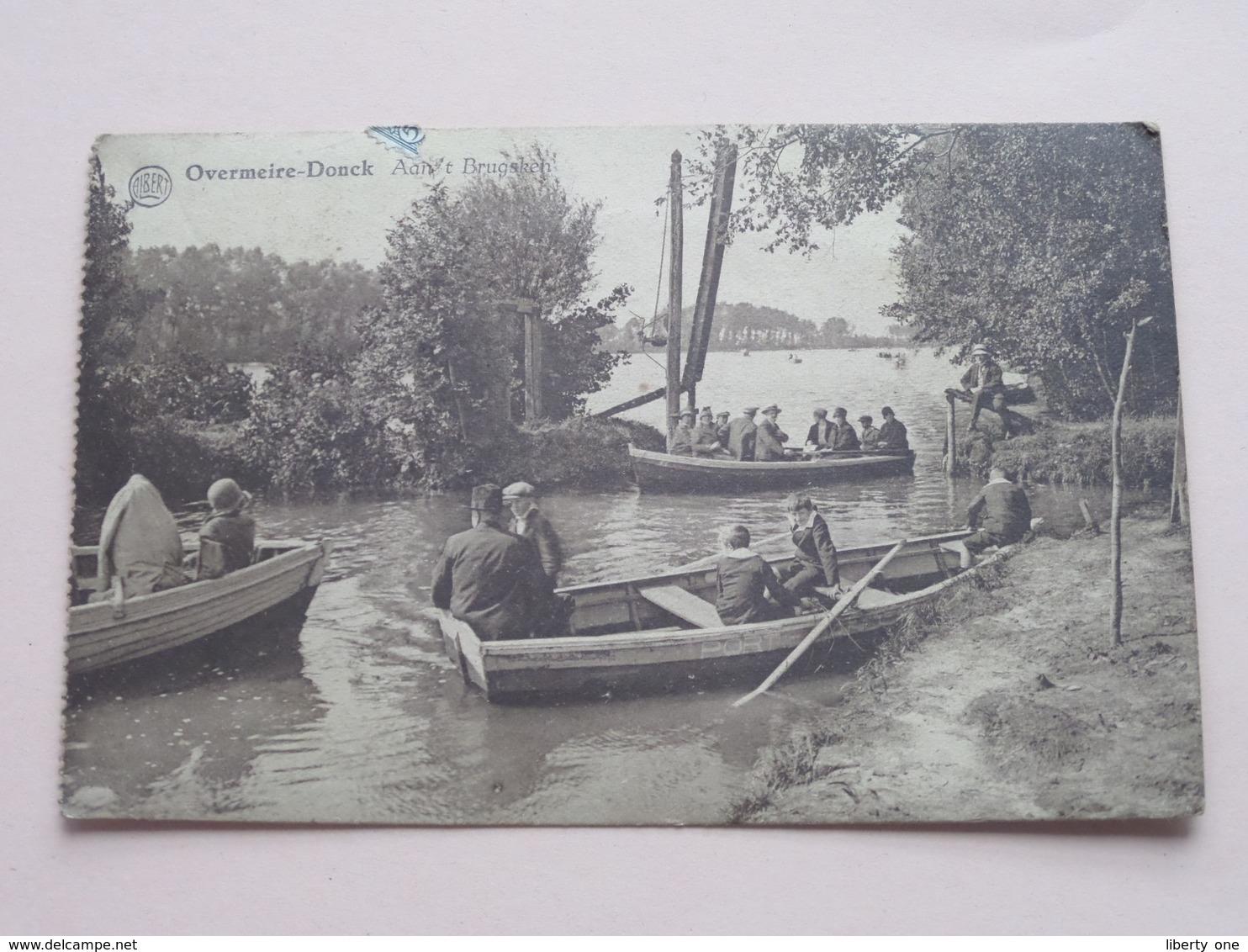 Overmeire-Donck / Aan 't Brugsken ( Albert > Uitg. D'Hooge-Suy Overmeire ) Anno 19?? ( Zie / Voir Photo ) ! - Berlare
