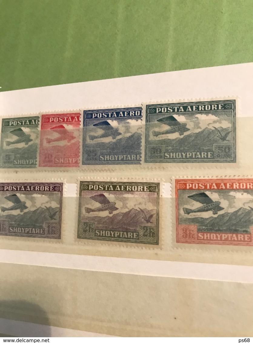 Collection De 120 Timbres D'Albanie Albania Cote 700 Eur - Sammlungen (ohne Album)