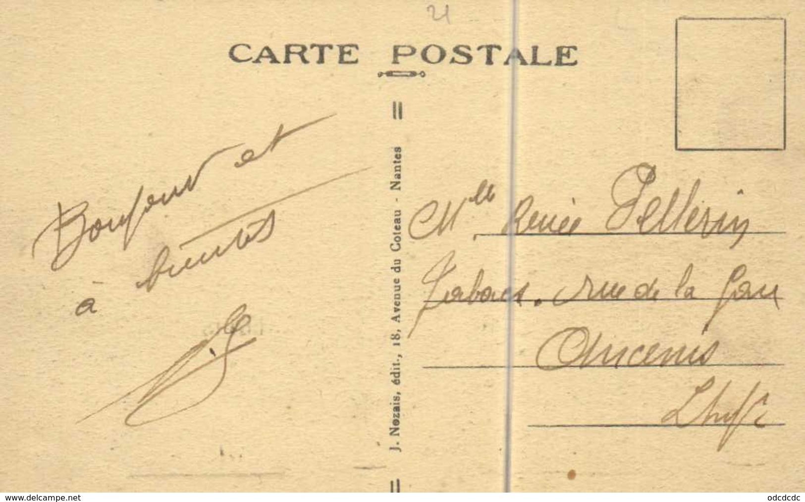 """SAINT NAZAIRE  29 Octobre 1932 Lancement Du Paquebot Transatlantique """"LA NORMANDIE"""" Grues RV - Saint Nazaire"""