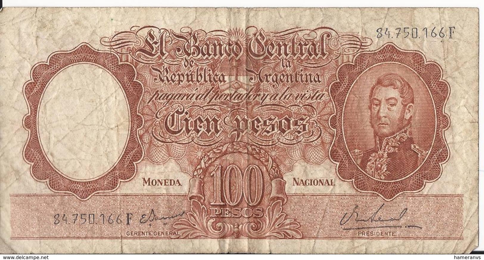 Argentina - 100 Pesos  - P.277 - Argentina