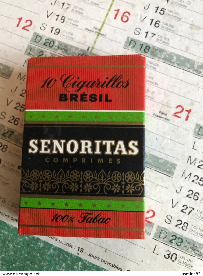 Boîte De Cigares Senoritas - Boites à Tabac Vides