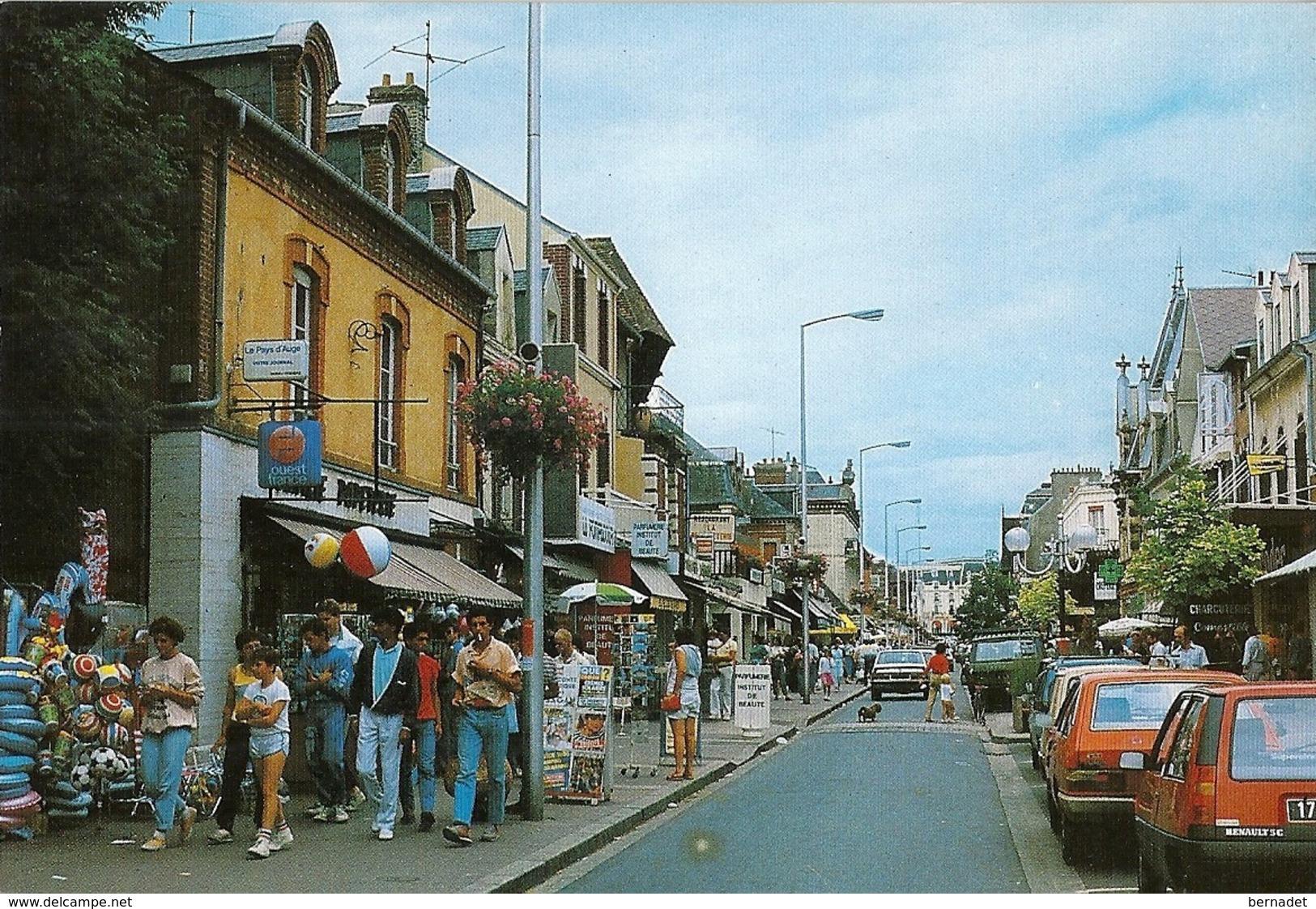 14 .. CABOURG .. AVENUE DE LA MER .. OUEST FRANCE .. LE PAYS D'AUGE - Cabourg