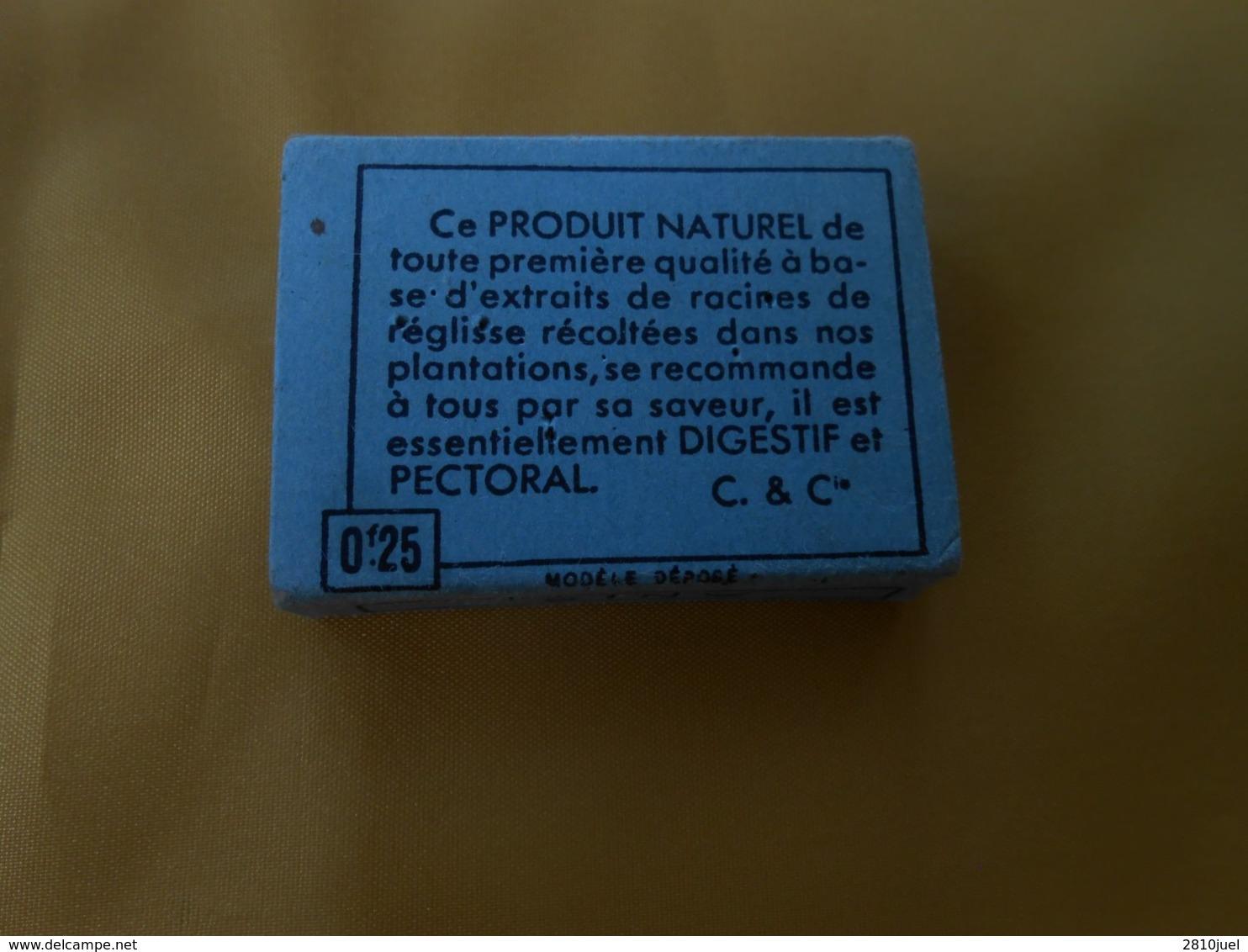 """Boîte Carton REGLISSE """" CAR"""" Moussac - Scatole"""