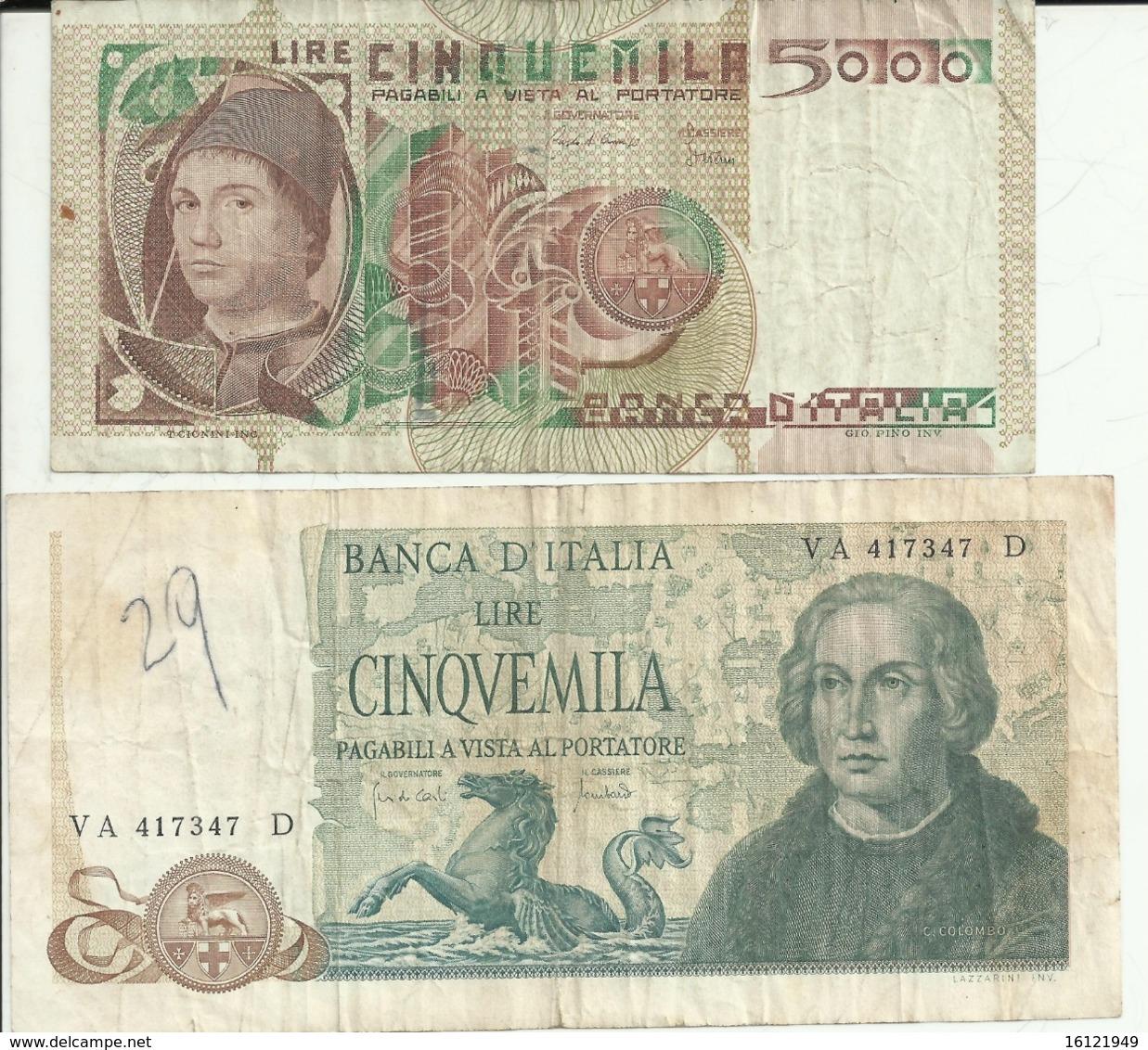 C15 - Copia 5000 Colombo - Antonello - 5000 Lire