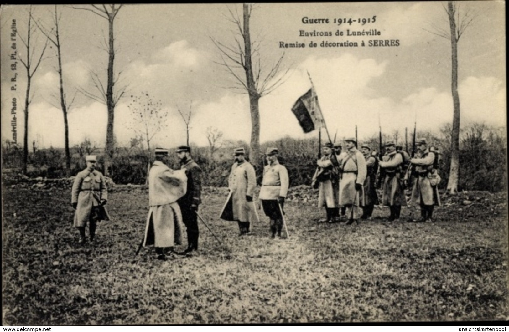 Cp Serres Luneville Environs Meurthe Et Moselle, Remise De Decoration, I. WK - Francia