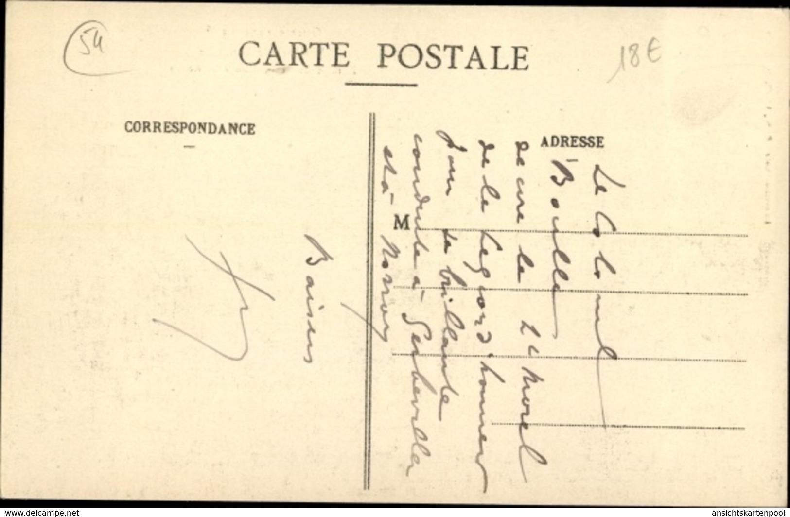 Cp Serres Luneville Environs Meurthe Et Moselle, Remise De Decoration, I. WK - France
