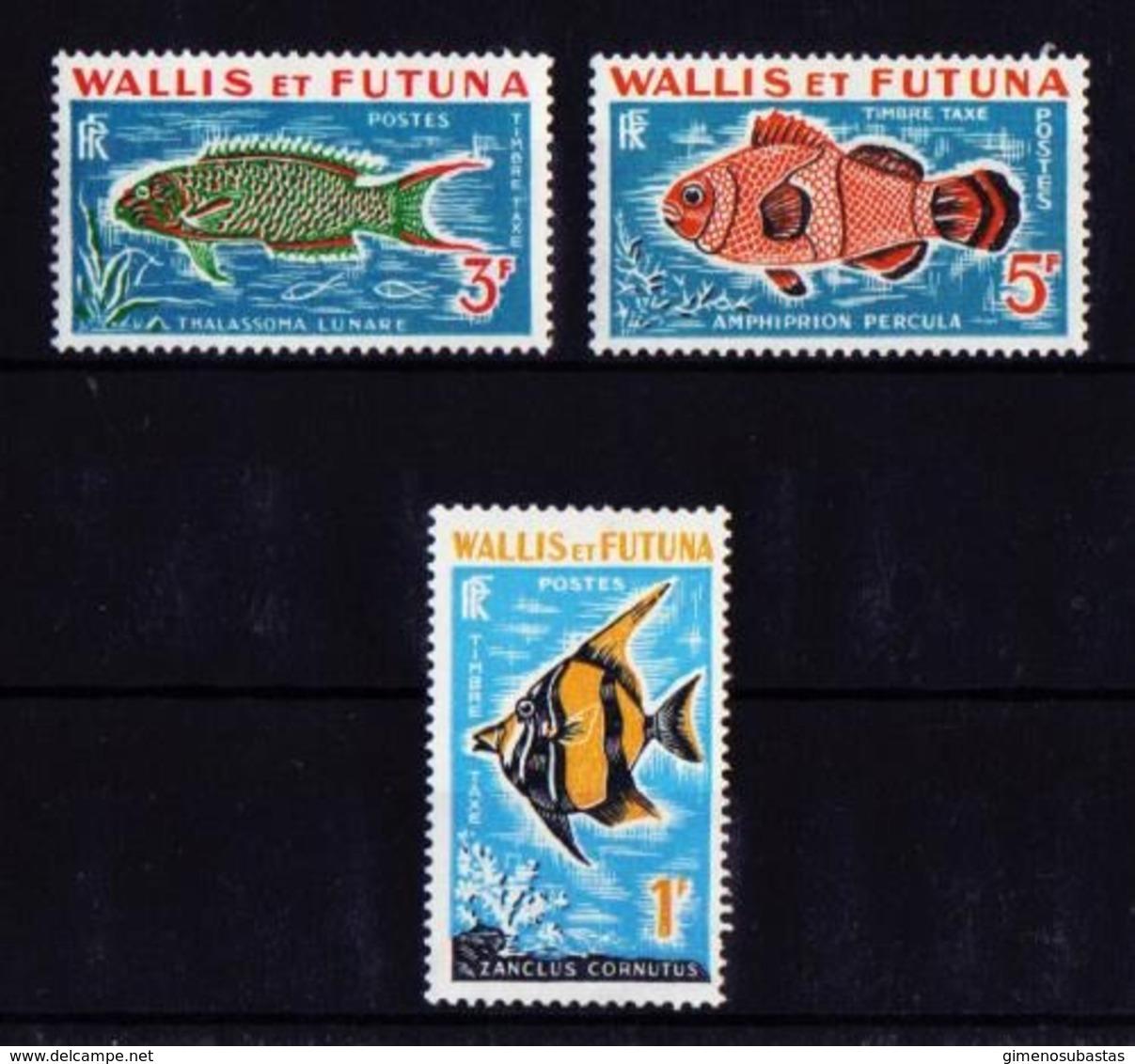Wallis Y Futuna Tx 37/9 Nuevo - Impuestos