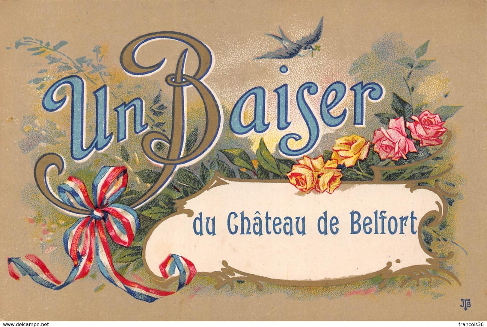 Belfort (90) - Un Baiser Du Chateau De Belfort - Belfort - City
