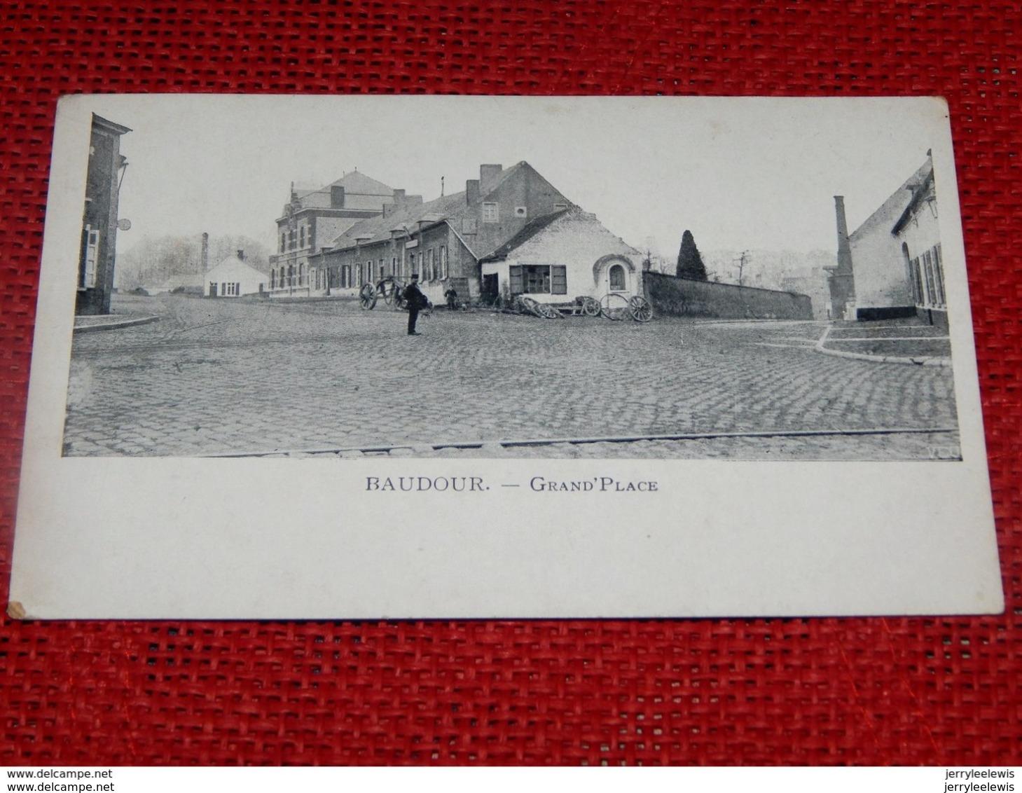 BAUDOUR  -  Grand'Place - Saint-Ghislain