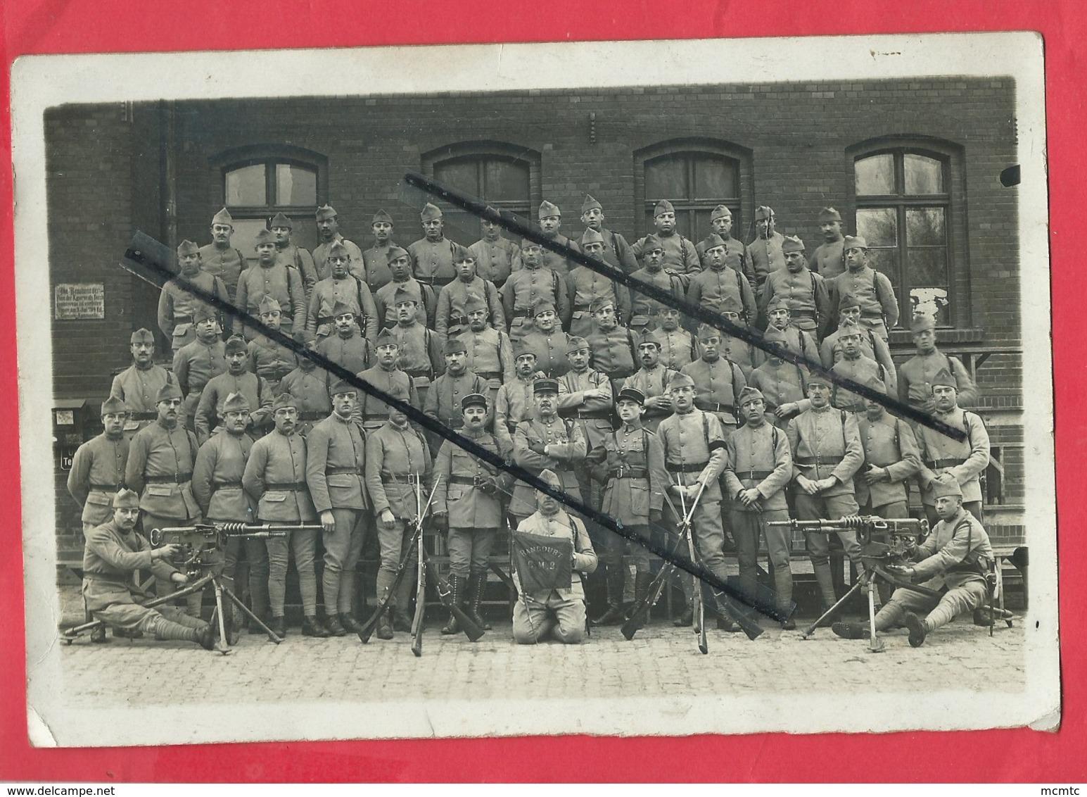 Photo -  Drapeau Rancourt  CM2   - Militaire , Militaires , Soldat , Soldats - France