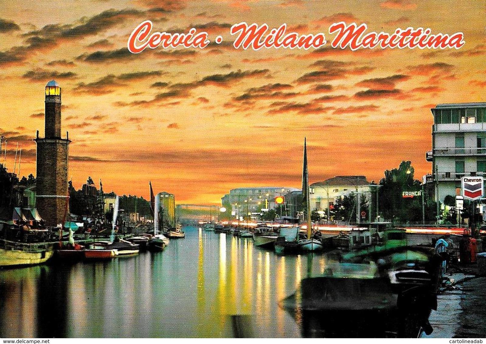 [MD3697] CPM - CERVIA MILANO MARITTIMA (RAVENNA) - IL PORTO - Viaggiata 1999 - Italia