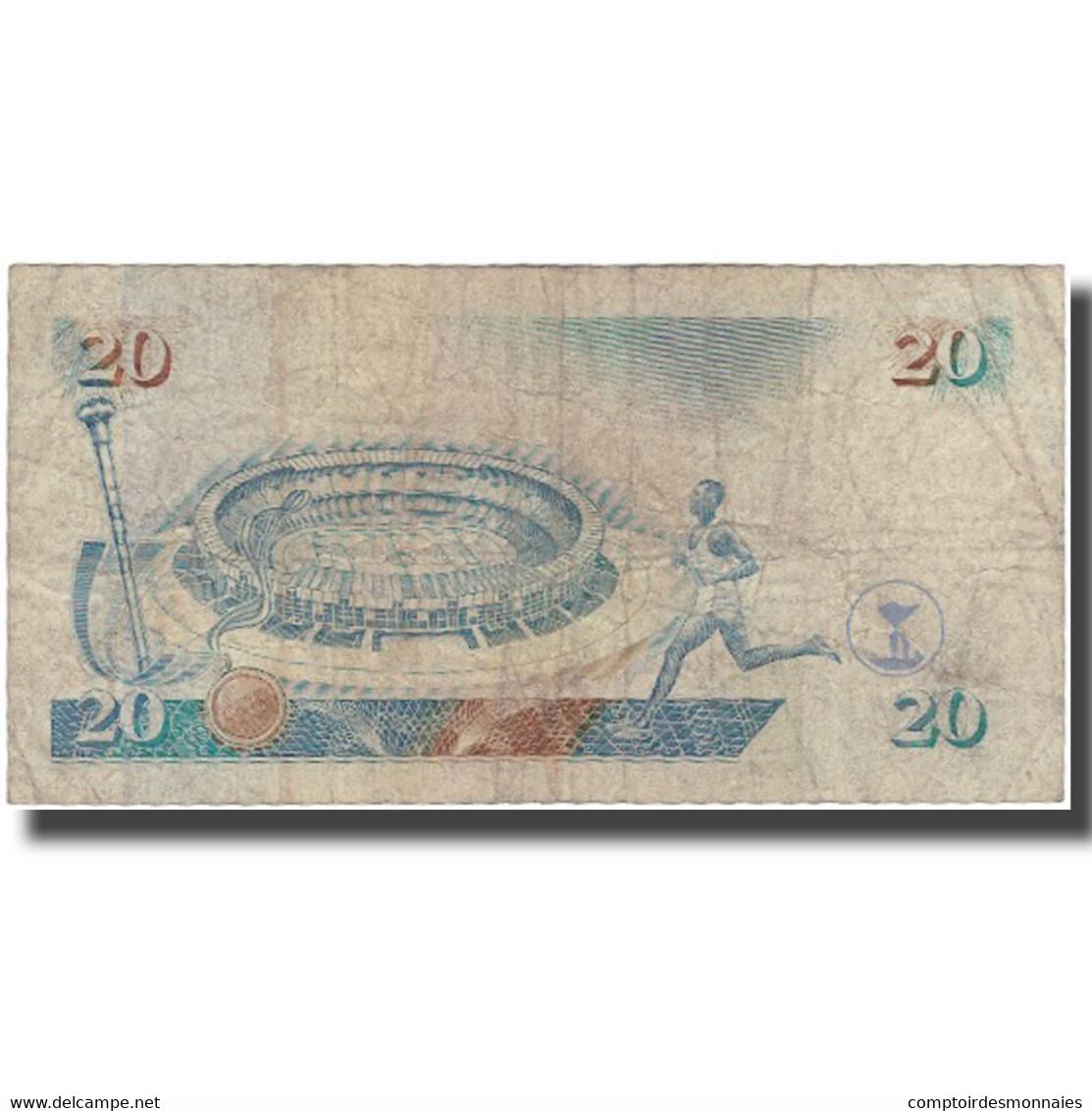 Billet, Kenya, 20 Shillings, 1995-07-01, KM:32, B - Kenya