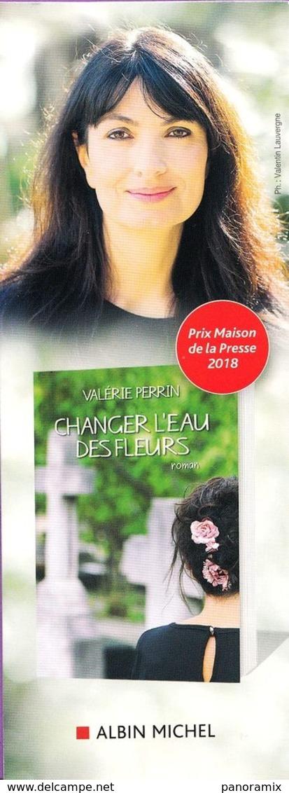Marque-page °° Albin Michel - Changer L'eau Des Fleurs - V. Perrin - 6x16 - Bladwijzers