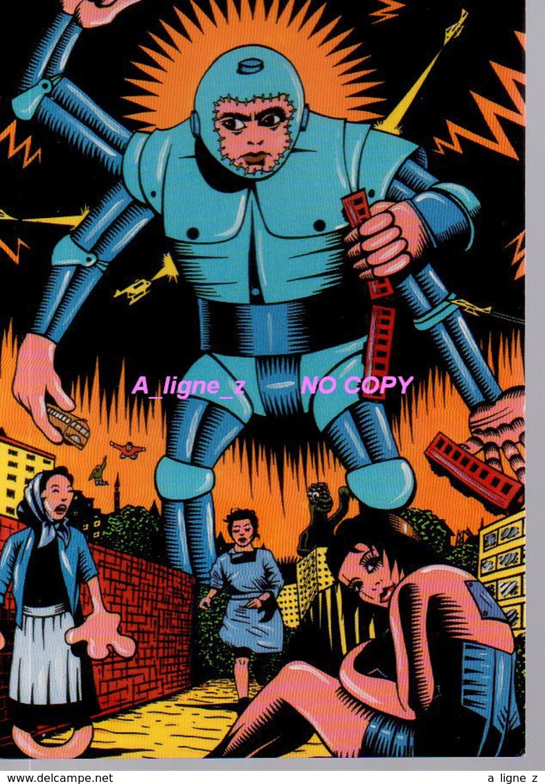 Ref 355 :  CPM Bande Dessinée Thierry Guitare Robot - Comicfiguren