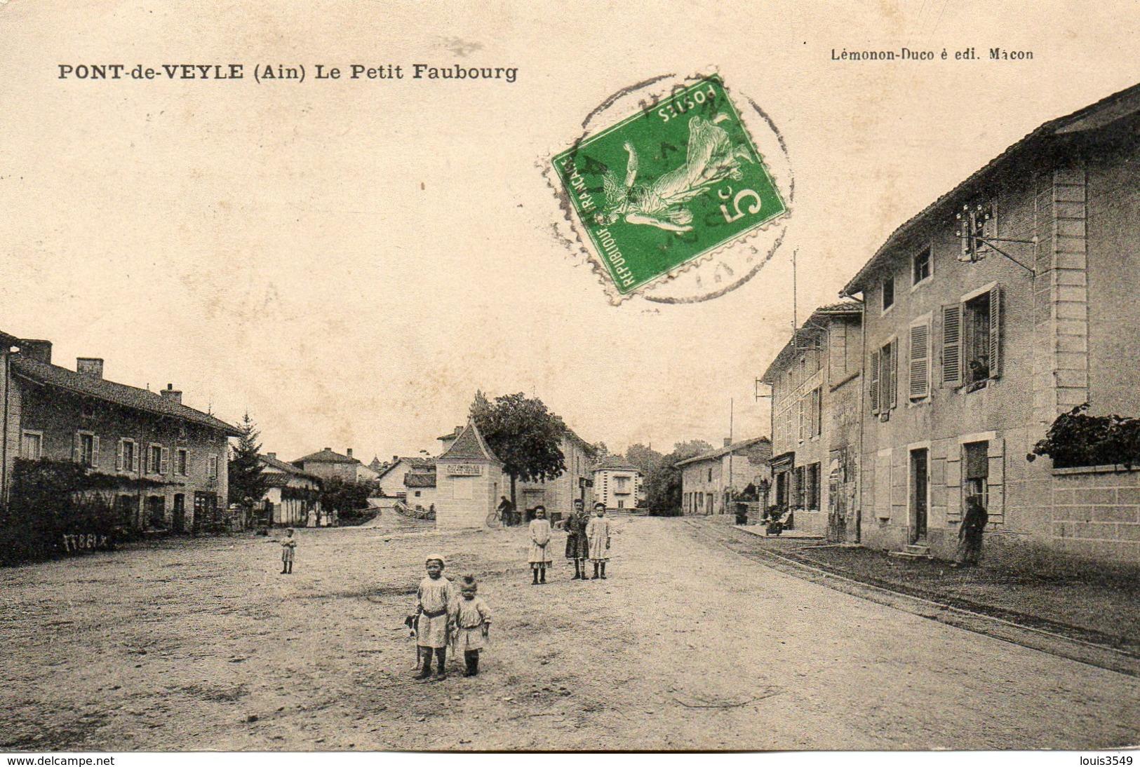 Pont  De  Veyle -   Le  Petit  Faubourg - France