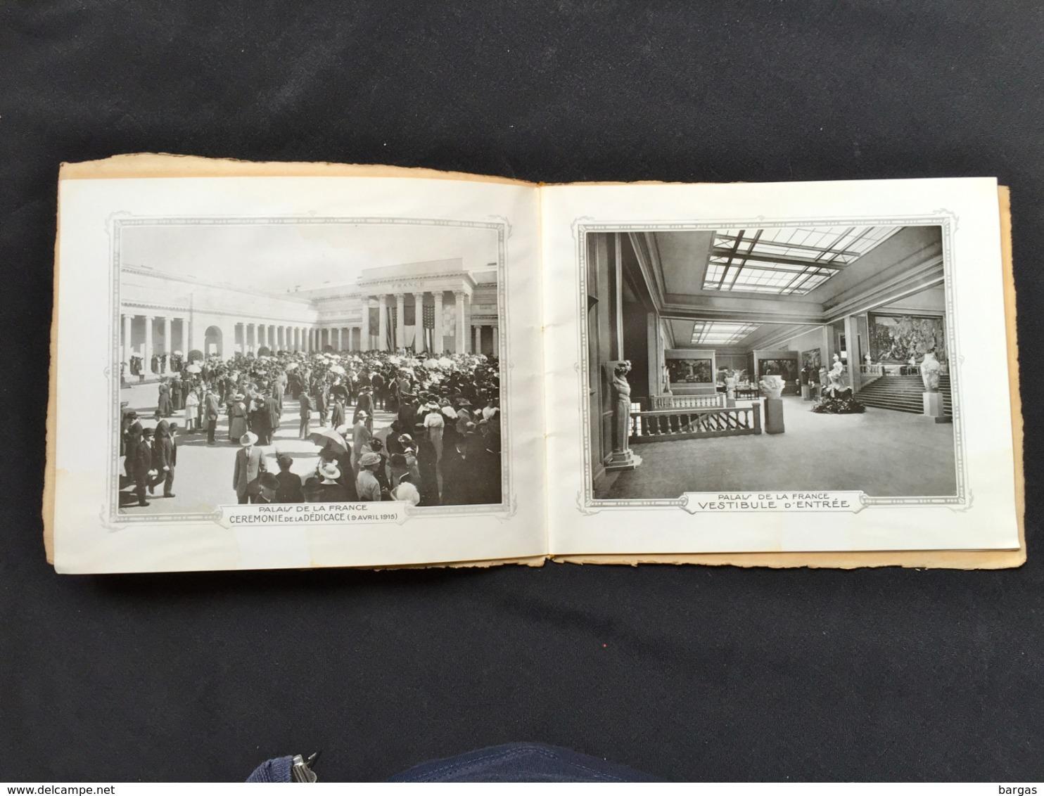 RARE San Francisco Exposition Française 1915 PANAMA PACIFIC EXPOSITION  Lafayette Rochambeau Industrie Art - Programmes