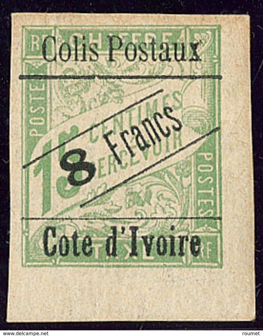 * Colis Postaux. No 17, Cdf, Point Clair Au Verso Sinon TB - Costa D'Avorio (1892-1944)
