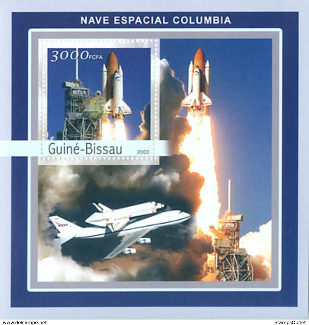 Guinea - Bissau 2003 - Columbia 4v. Y&T 137, Michel 2076 BL385 - Guinée-Bissau