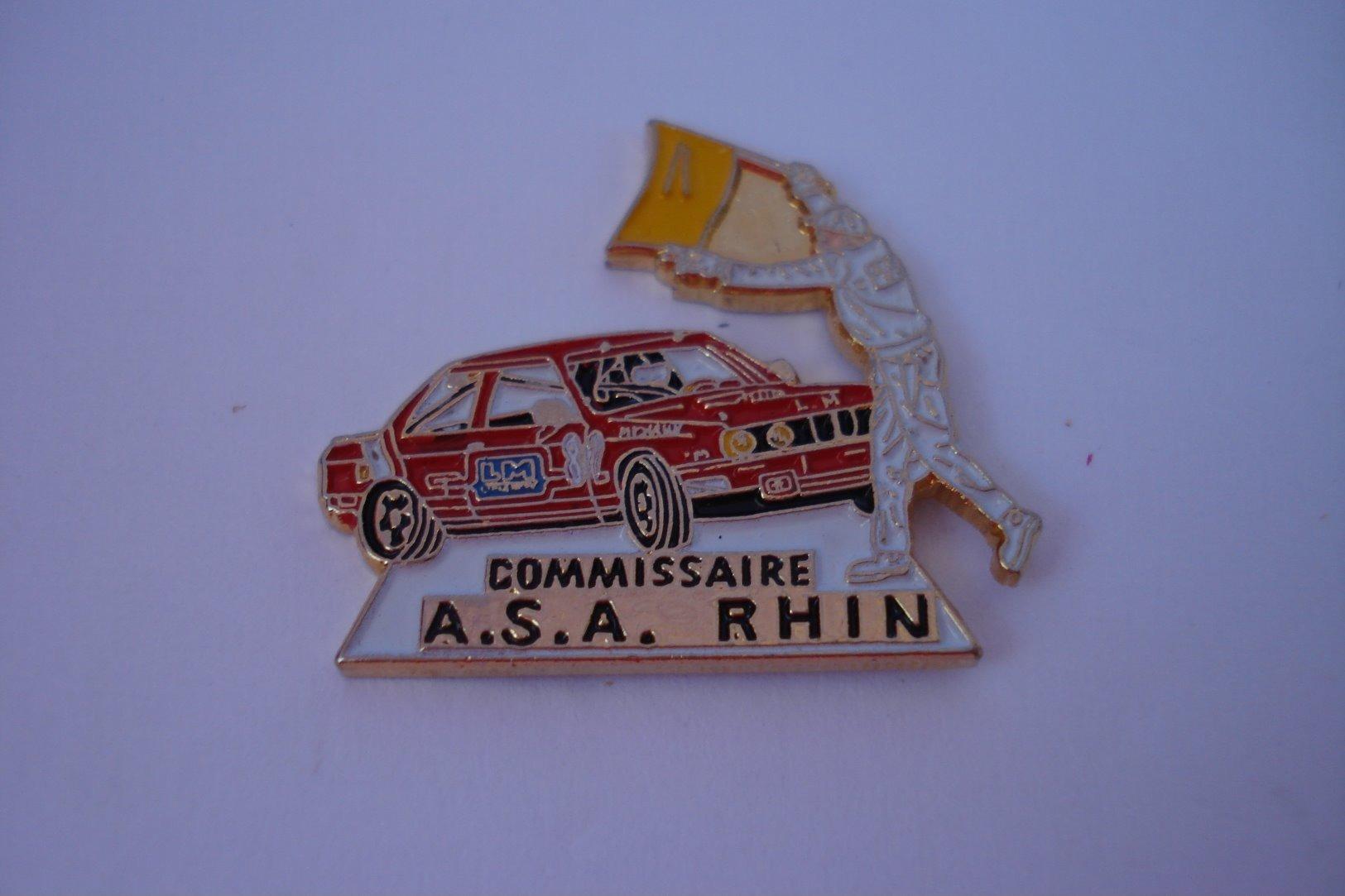20190906-3316 COMMISSAIRE DE L'ASSOCIATION DES SPORTS AUTOMOBILES D'ALSACE RHIN - Automobile - F1